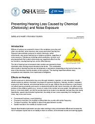 Preventing Hearing Loss Caused by Chemical (Ototoxicity) and Noise Exposure